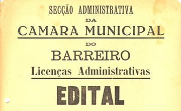 Licenças administrativas
