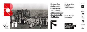 Workshop Mês da Fotografia – Fotógrafos do Barreiro: os Resende (1900-1940)