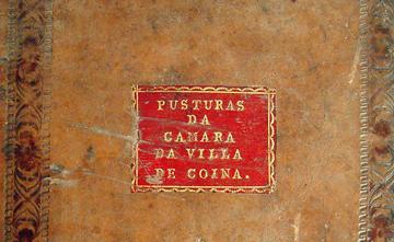 Livro de Posturas da Câmara da Vila de Coina de 1780