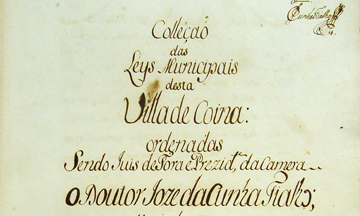 Livro de Posturas da Câmara da Vila de Coina de 1780 - página 5